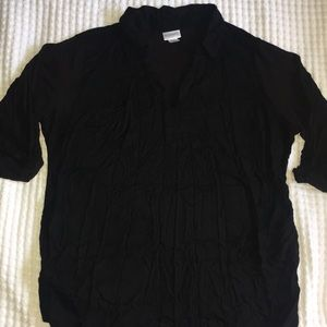 Black Motherhood Maternity shirt XL